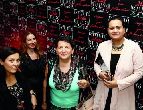 Famous Italian designer visits Fashion & Arts Academy