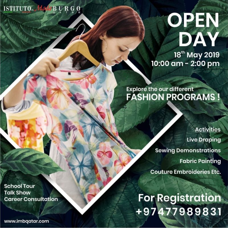 18th may open day